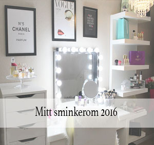 Mitt sminkerom 2016